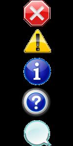 icon set, stop, cancel